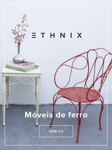 Ethnix - Móveis de Ferro