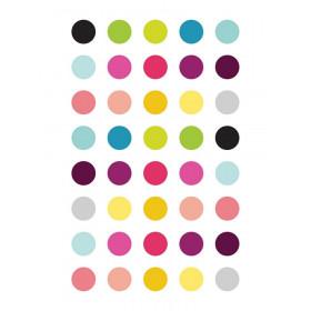 Kit de Adesivos de Parede Bolinhas Coloridas