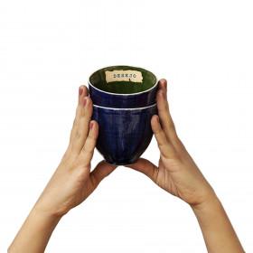 2 Mini Bowl em Cerâmica Artesanal - Desejo + Afeto