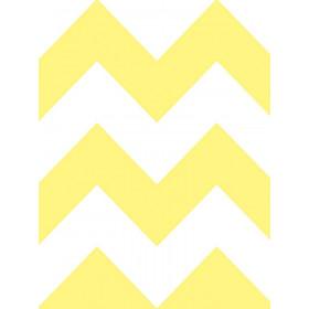 Papel de Parede Adesivo Chevron Amarelo