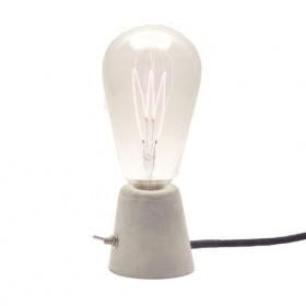 Luminária Cone Cimento