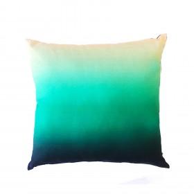 Almofada Pacífico Degradê Azul e Verde