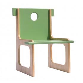 Cadeira Infantil em Madeira Artista Tato