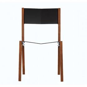 Cadeira Gaivota em Freijó e Alumínio