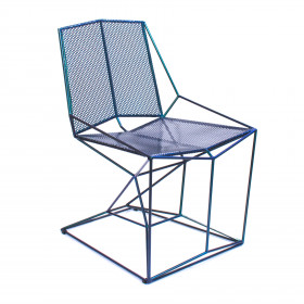 Cadeira em Metal Soldado Grelha