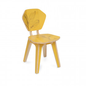 Cadeira Pétala Roberta Kremer - Cúrcuma