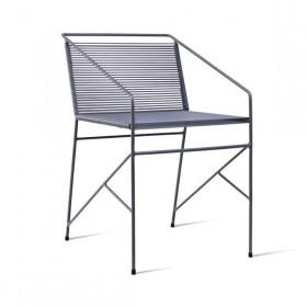 Cadeira em Aço e Fio de PVC Sabiá