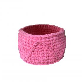 Cesto fio de malha Midi - pink honeysuckle