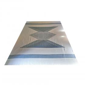 Colcha Cinza Artisan Nazca