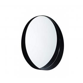 Espelho com Moldura Preta Cycle
