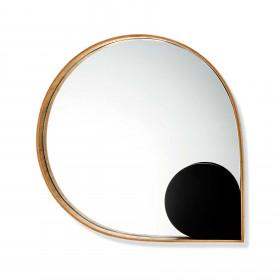 Espelho de Parede em Madeira Orvalho Grande