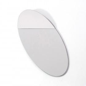 Espelho Oval Relativo Cristal