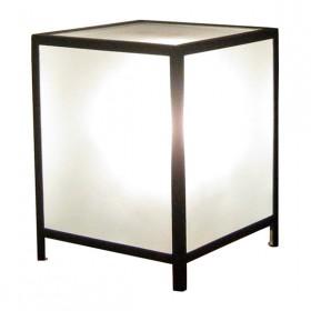 Luminária Cubo de Vidro