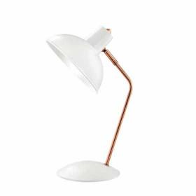 Luminária de mesa branca