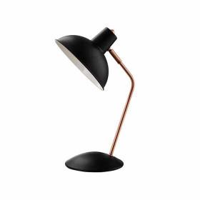 Luminária de mesa preta