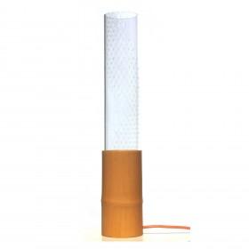 Luminária em Bambu e Acrílico k002