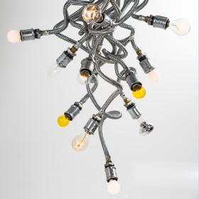 Luminária Medusa 13 Cabelos