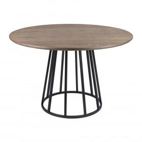 Mesa de Jantar em Aço Carbono Arlinda