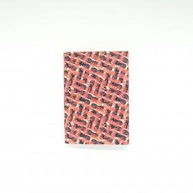 Mini-diário Pineapple Estampa de Abacaxi