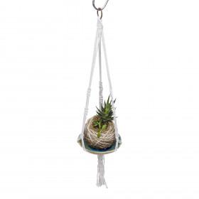 Suporte para Plantas em Macramê Mini Hanger
