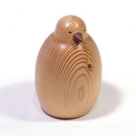 Objeto Decorativo em Madeira Maciça Avis Frapiá