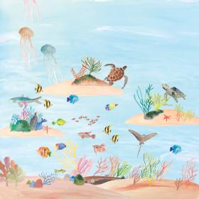 Painel Adesivo Fundo do Mar