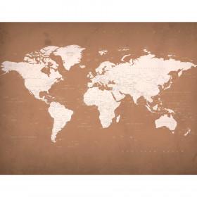 Painel Papel de Parede Adesivo Mapa Old