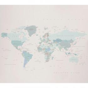 Painel Papel de Parede Adesivo Mapa Sky