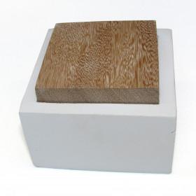 Porta Objetos Caixinha de Concreto Branco