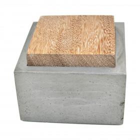 Porta Objetos Caixinha de Concreto Natural