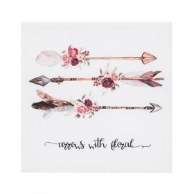 Quadro 3 da série Dreamer: Arrows with Floral