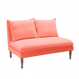 Sofá de 2 Lugares com Pé Torneado Carol