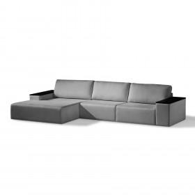 Sofá Level de 3 Lugares com Chaise