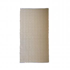 Tapete bicolor Cotton - Arado (amarelo e cru)