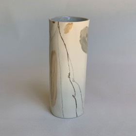 Vaso em Porcelana - Série Encontros