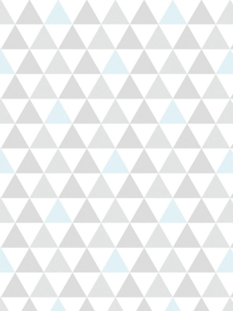Papel de Parede Adesivo Triangulinho Azul