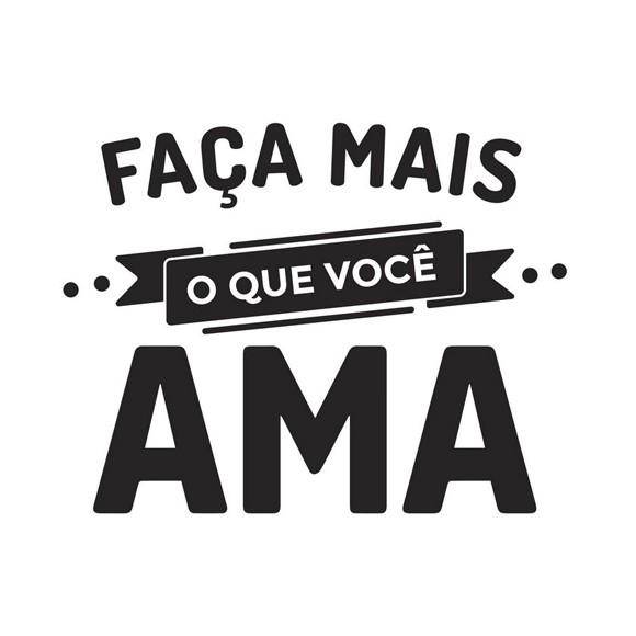 Adesivo De Joaninha Para Unhas ~ Adesivo de Parede Frase Faça Mais o que Voc u00ea Ama Hometeka