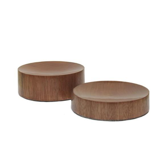 Bowl Côncavo Jequitibá - Conjunto 2 peças