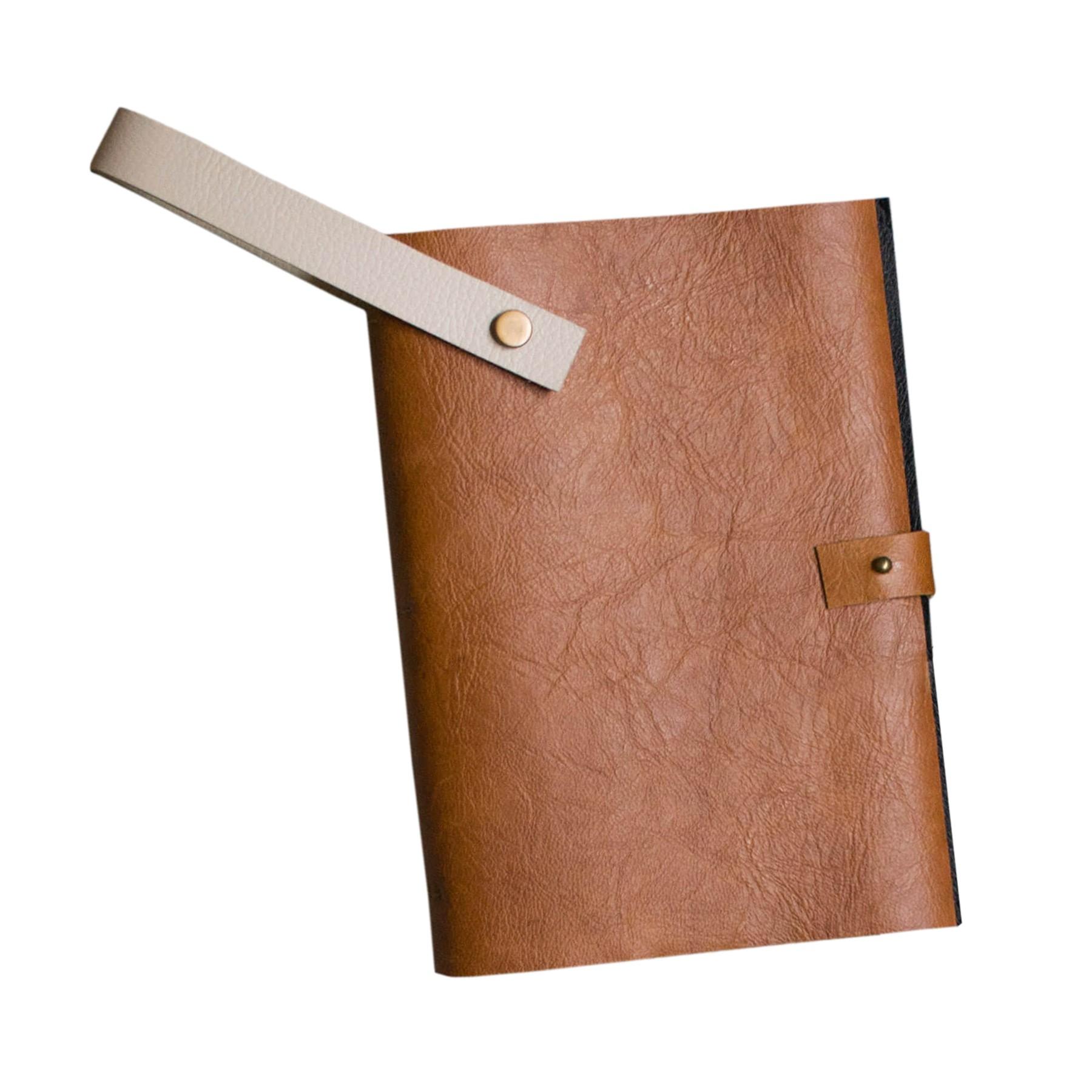 Caderno Couro com Alça