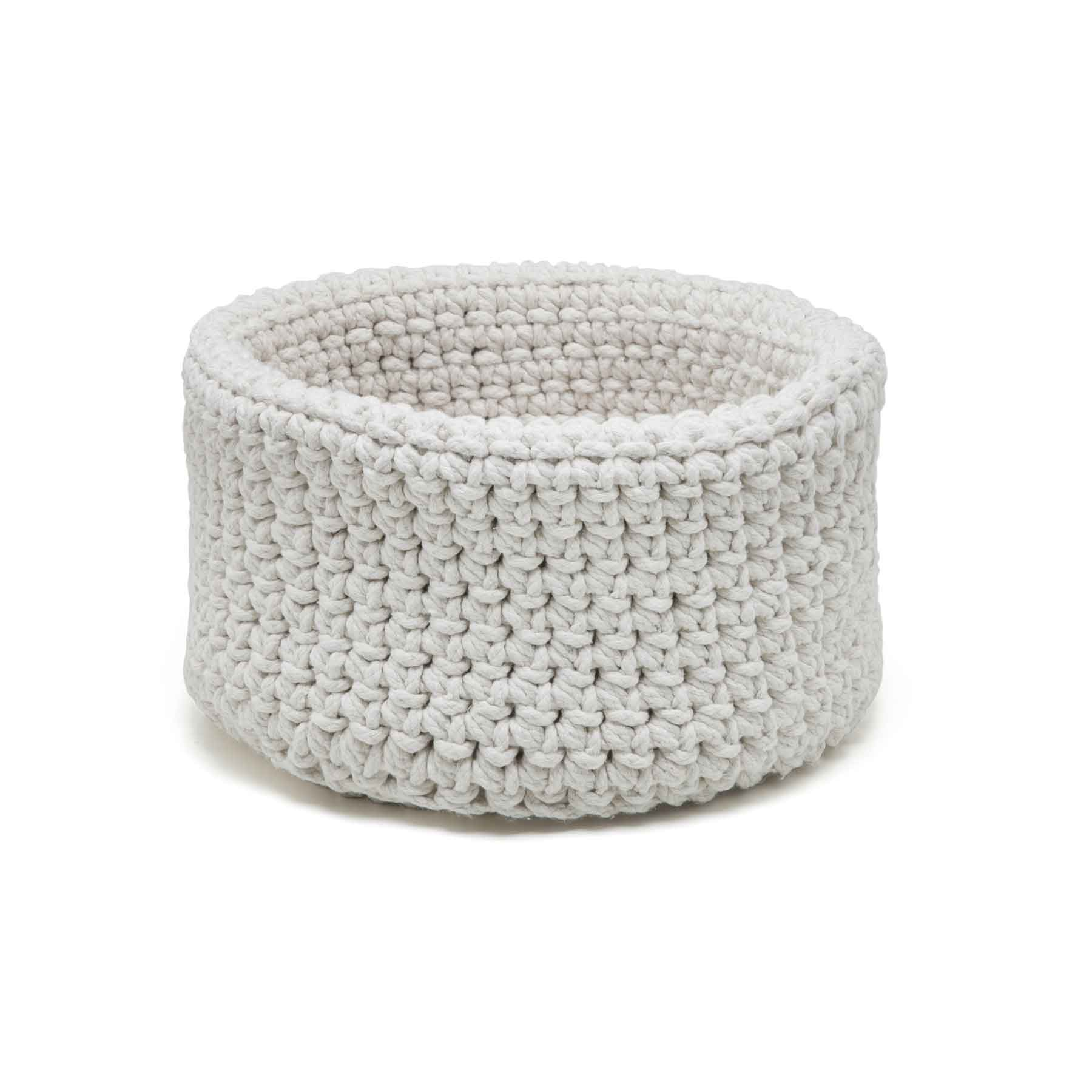 Cesta Alta Crochet Cru String