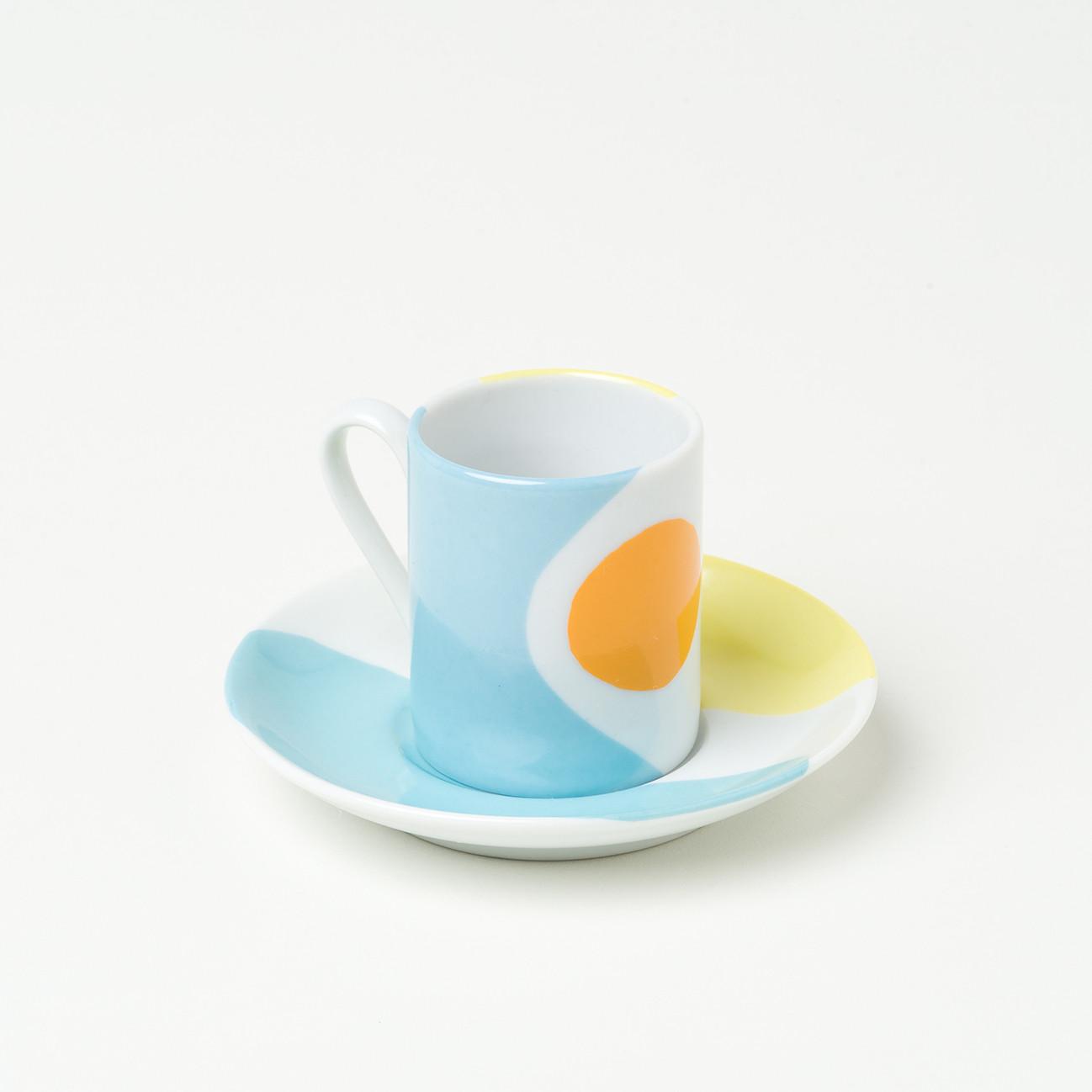 Conjunto de 6 Xícaras em Porcelana - Coleção Cores De Tarsila | Estampa 2