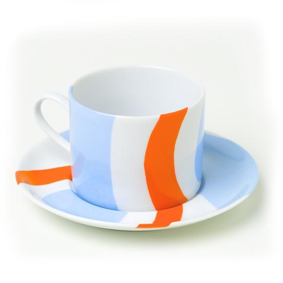 Conjunto de 6 Xícaras de Chá - Coleção Cores de Tarsila
