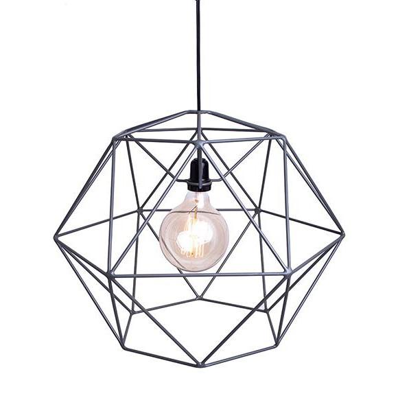 Luminária Wireframe em Aço Beija Flor