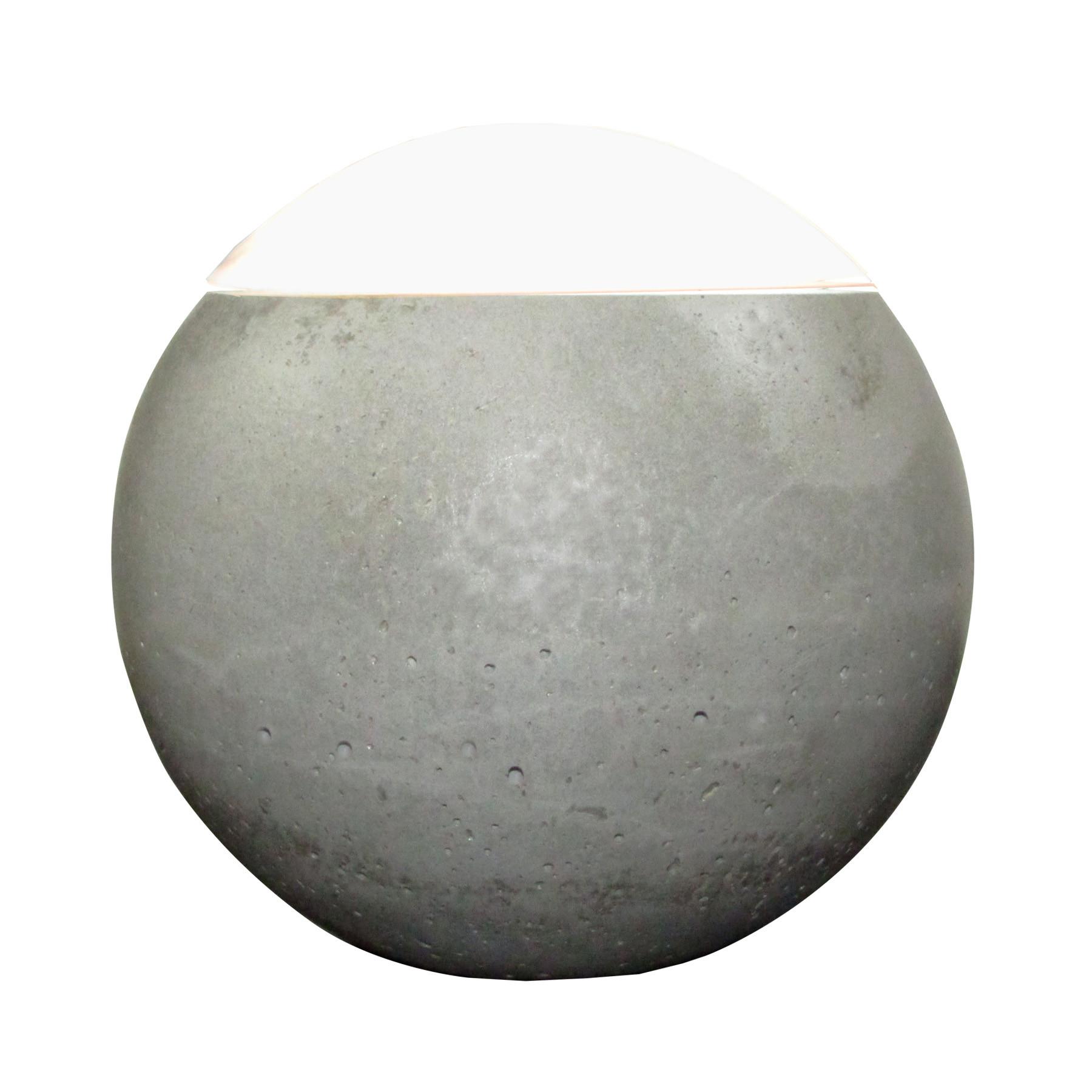 Luminária de Mesa em Concreto Bella Luna