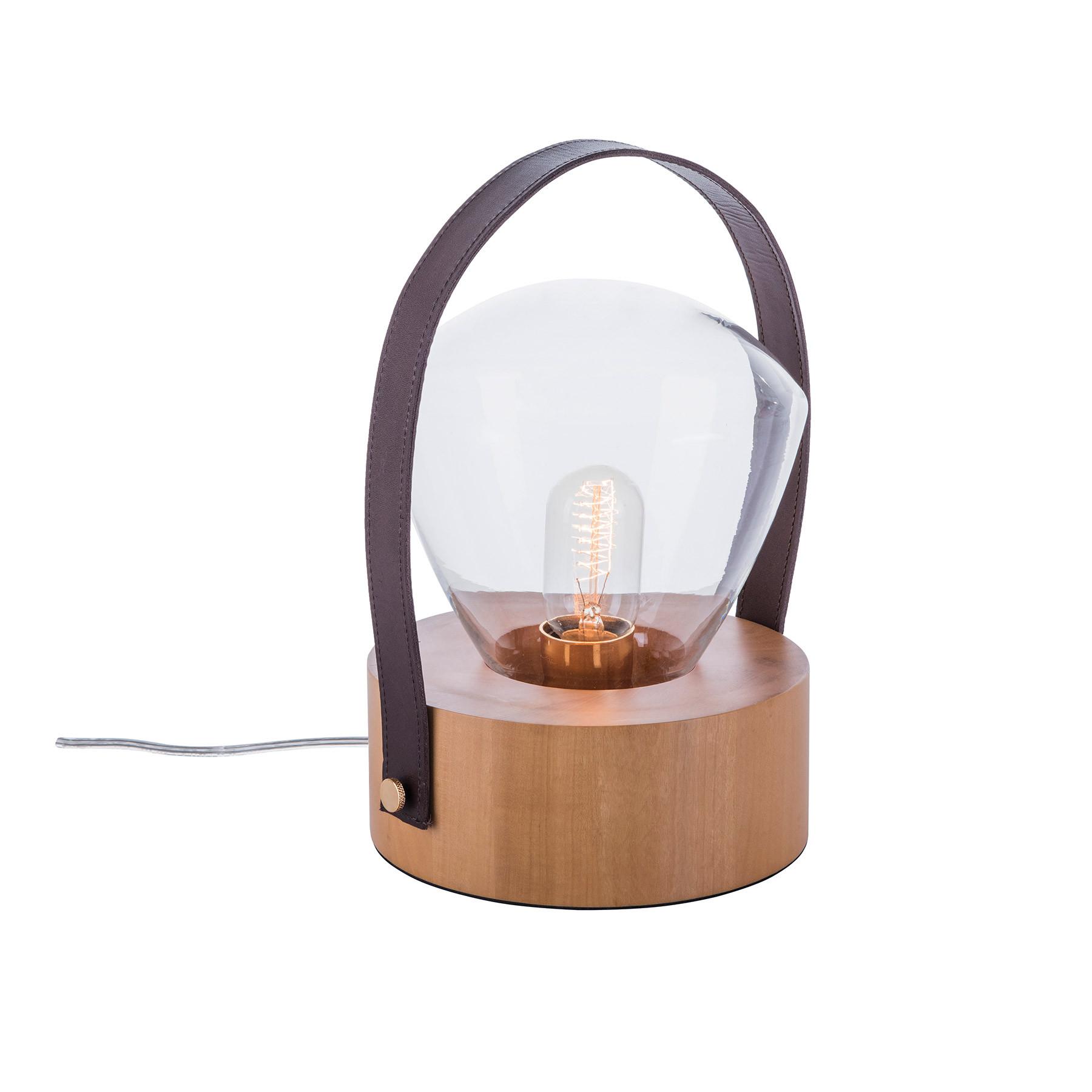 Luminária de Mesa em Madeira Luzeiro 1