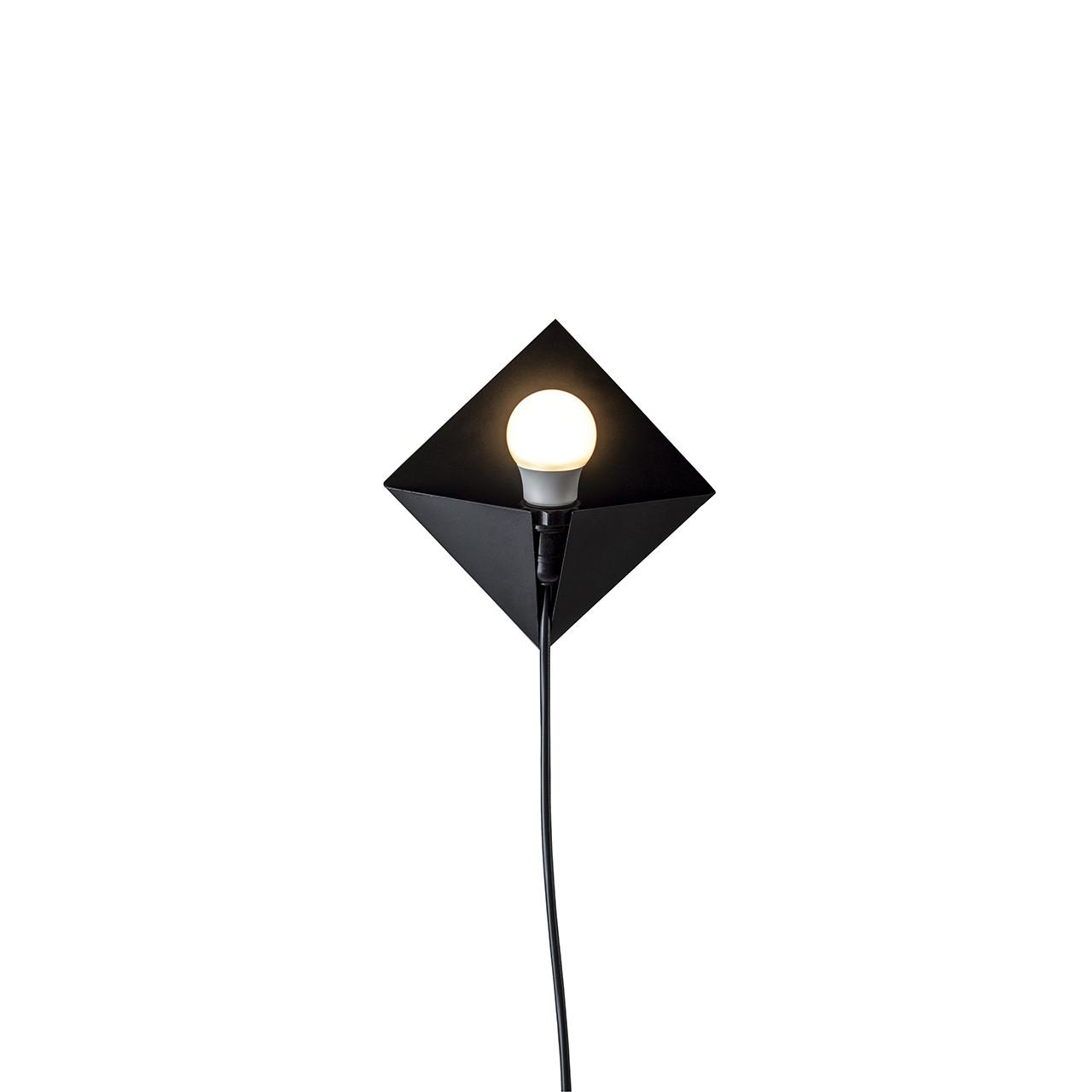 Luminária Metálica de Parede Pipa