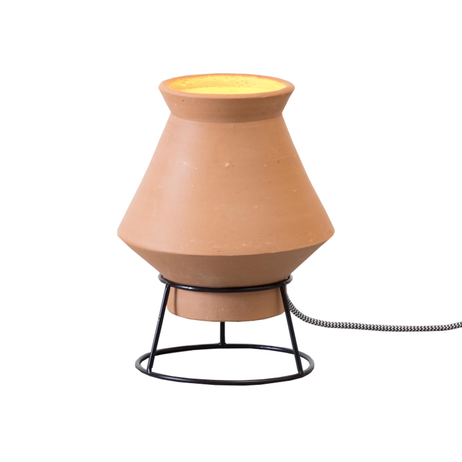Luminária de Mesa em Terracota São João - Modelo 04