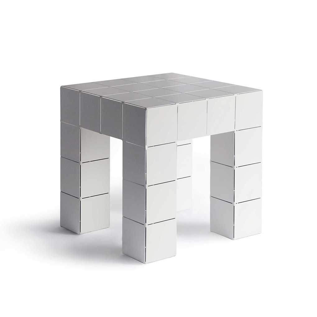 Mesinha Modular em Aço Block