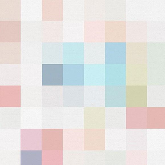 Papel de Parede Adesivo Pixel Brilho