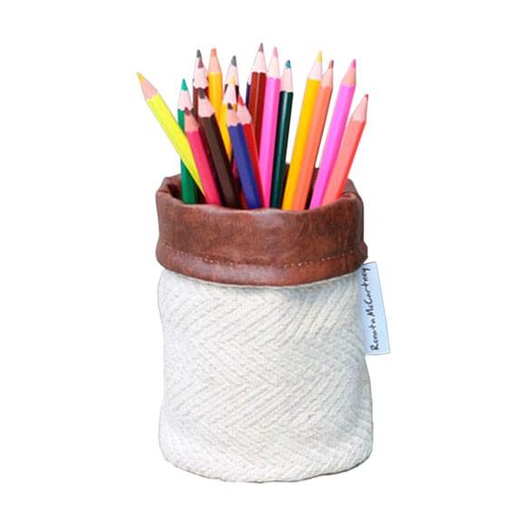 Porta-lápis de Tecido